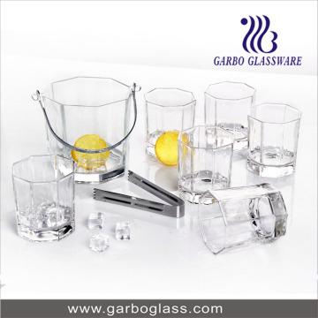 Ensemble de godet à glace SummerPC 7PCS avec vasque en verre 6PCS