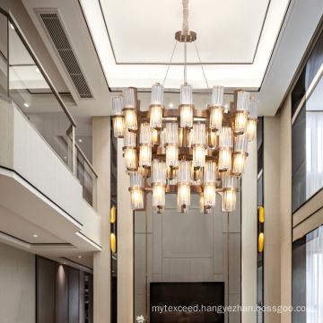 Modern White Indoor Hotel G9 Lamp Shade Chandelier