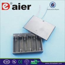Daier 6 АА батареи держатель с крышкой, держатель 9В батареи