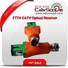 Mini receptor óptico de Csp-9008A FTTH CATV / mini nó ótico