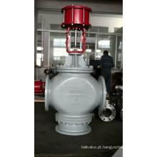 Válvula de controle de fluxo pneumático de três vias tipo de mistura (ZMAQ)