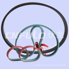 Courroie plate, courroie de distribution automobile, néoprène/Cr