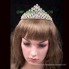 Rhinestone nupcial de la boda de la tiara de la alta calidad headwear