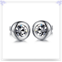 Fashion Jewellery Crystal Jewelry Stainless Steel Earring (EE0063)