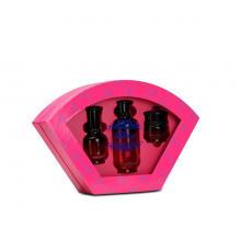 Unregelmäßige form kosmetikpapier verpackungskasten