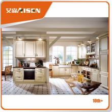 Novo design para o mercado Armário de cozinha com folha térmica de PVC