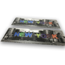 3d Lenticular Sheet Emboss Lens Paster Film Wholesale Custom Multicolour Heat Transfer Printing Custom Size Custom Color Fabric