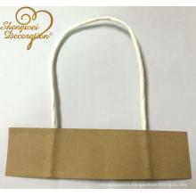 kraft paper handle rope for bags