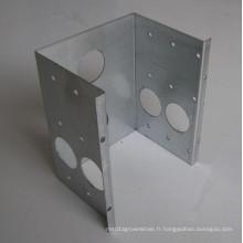 Bouclier d'appareil galvanisé, coquille protectrice perforée de cercle