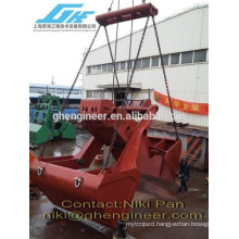 30t 12cbm four rope scissor type grapple