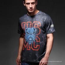 Esportes ao ar livre Exército Python tática Camo homens de t-shirt