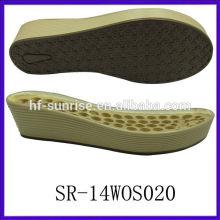 SR-14WOS020 ladis pu sole pu outsole pu sole manufacturers pu sole wedge shoes pu sole