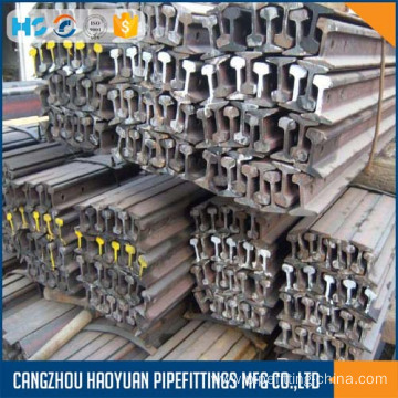 Top for Train Rail Railroad steel rail P43 supply to Estonia Suppliers