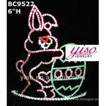easter crystal tiara