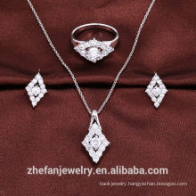Dubai wholesale market stainless steel jewelry manufacture jewelry set