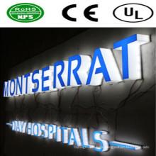 Señales de publicidad LED de alta calidad y letras iluminadas con LED