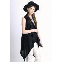Lady Fashion merzerisierte Baumwolle gestrickte Schal Weste (YKY2035)