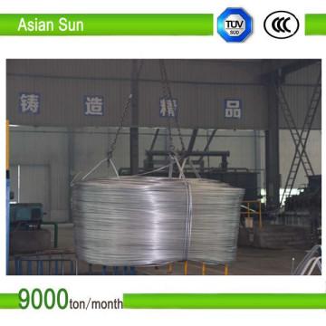 Ec Grade ISO-Zertifikat, blanker Aluminiumstab vom Typ 1350, 9,5 mm