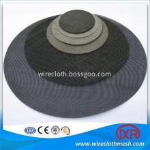 Black Wire Woven Cloth