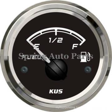 """Popular 2"""" 52mm Fuel Level Gauge Meter 12V 24V for Cars Boats"""