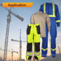 Retardador de Chama Tecido Denim Algodão para Vestuário de Trabalho