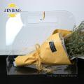 Jinbao moderno novo cristal home decor display caixa de acrílico transparente