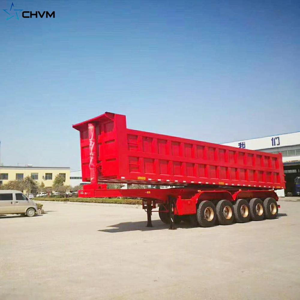 5 Axles Hydraulic Dump Trailer