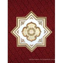 Sternform Elegantes Polystyrol Künstlerische Decke (BRRJ18-F076)