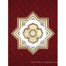Plafond artistique en polystyrène élégant en forme d'étoile (BRRJ18-F076)