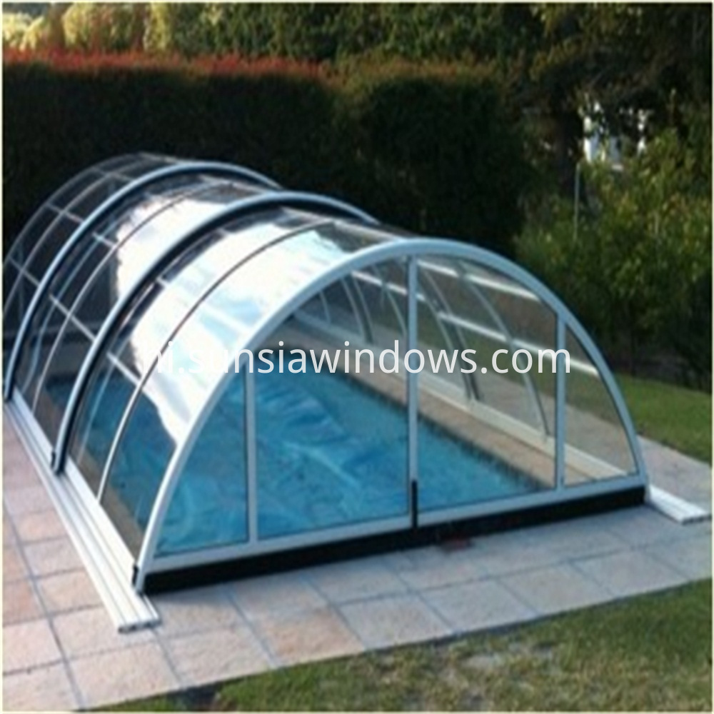 swimming pool shelter