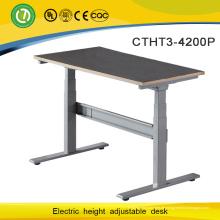 Moderner und umweltfreundlicher elektrischer höhenverstellbarer Metallstandplatz-Schreibtisch mit zwei Beinen