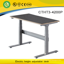 Modern and Eco-friendly Electric Height Adjustable Metal Standing Office Desk with Two Legs