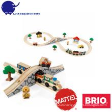 Crianças, madeira, figura, 8, trem, jogo
