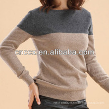 Jersey de cachemir de cuello redondo 13STC6011