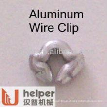 Grampos de arame de alumínio