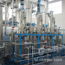 Multi-Effect Crystallization Evaporator untuk Elektroplating Wastewater