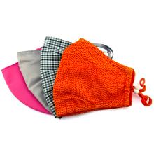 Máscara protetora de poeira de pano de tecido de algodão reutilizável