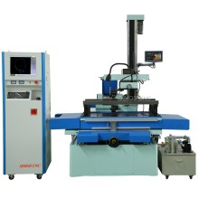DK77100 CNC Wire Cut EDM Machine +-15 degree