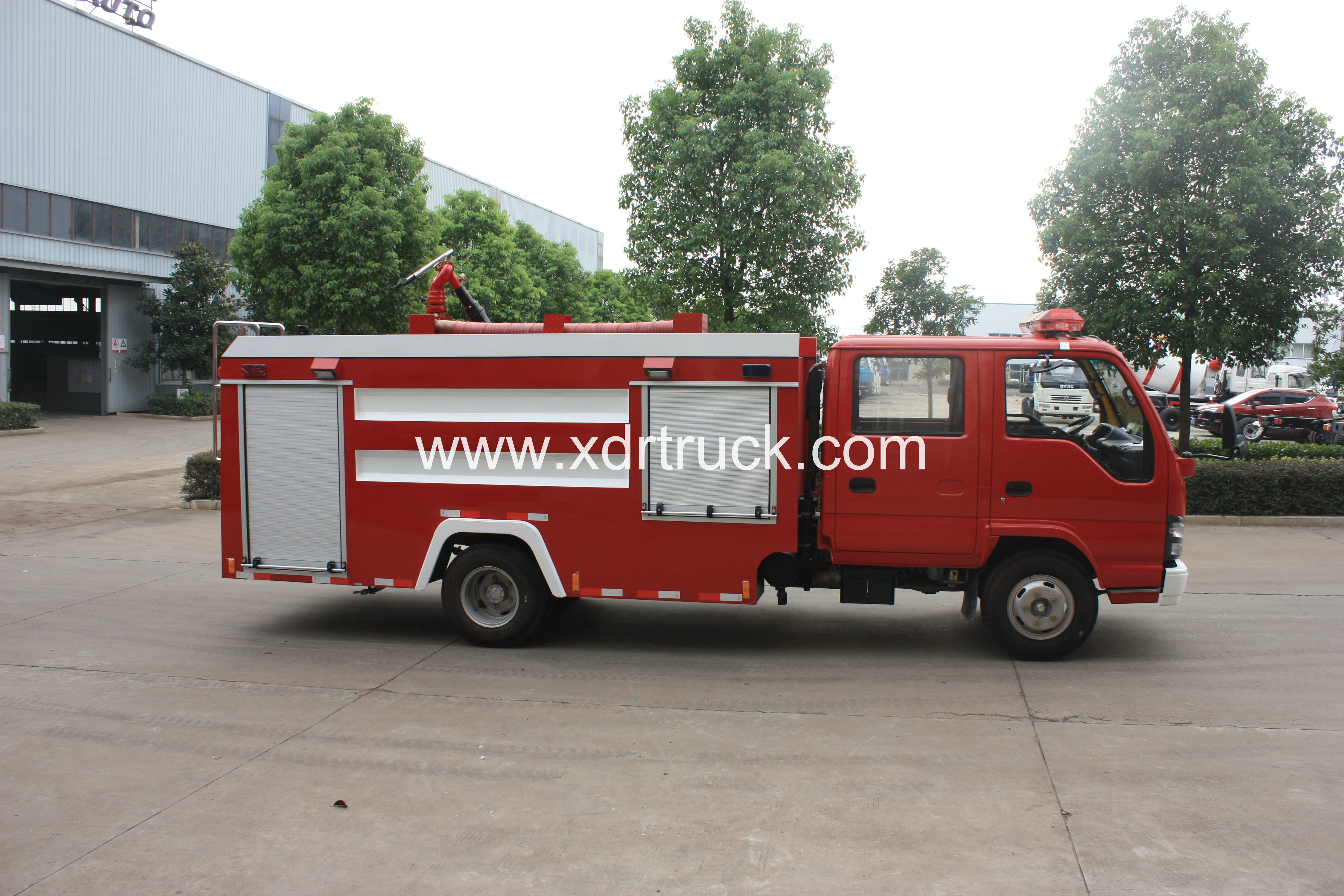 ISUZU 600P FOAM FIRE TRUCK 4TON 11  (6)