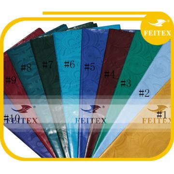 100% хлопок Гвинея парчи Африканский ткань ткань дешевой цене 10 ярдов/мешок базен риш дамасской
