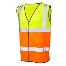 Logo Printed Cheap Safety Reflective Vest