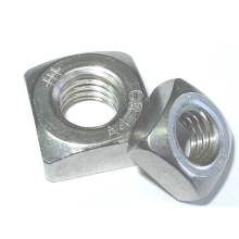 M4 Stainless Steel Square Nut aluminum