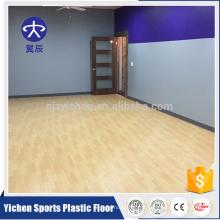 gymnase d'aérobic anti-fatigue sols sportifs en PVC