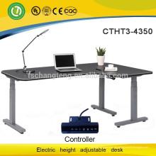 Sitzen Sie und stehen Sie Computer-Schreibtisch-Rahmen durch Selbstlinearmotor