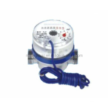 Single Jet Dry Type Water Meter with Pulse (length 80mm)