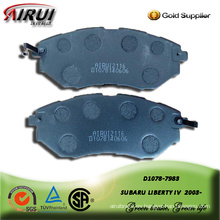 semi-metallic brake pad for SUBARU LIBERTY IV  2003-