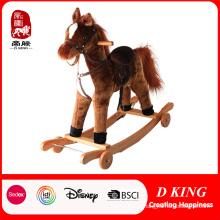 Plush Rocking Horse Rocking Animal for Kids