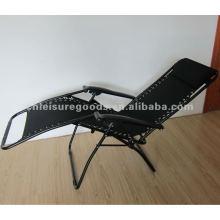2017 billige Stahl Freizeit Lounge Stuhl Falten im Freien