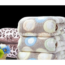 Printed Blanket Coral Fleece