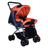 Babies' pushchair with reversible handle